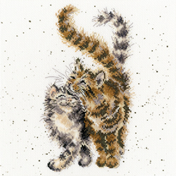 Borduurpakket Hannah Dale - Feline Good - Bothy Threads
