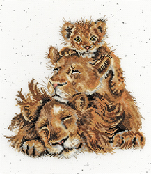 Borduurpakket Hannah Dale - Family Pride - Bothy Threads