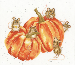 Borduurpakket Hannah Dale - Pumpkin, Spice And All Things Mice - Bothy Threads