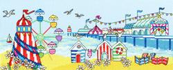 Borduurpakket Julia Rigby - Pier Fun - Bothy Threads