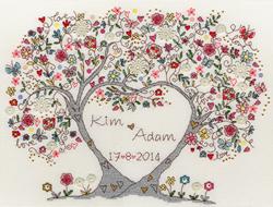 Borduurpakket Love - Love Blossoms - Bothy Threads
