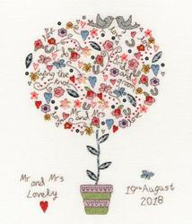 Borduurpakket Love - Love Vows - Bothy Threads