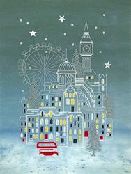 Borduurpakket Alison McGarrigle - Snowy London - Bothy Threads