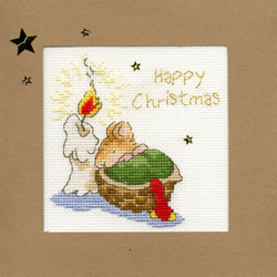 Borduurpakket Christmas Cards - First Christmas - Bothy Threads