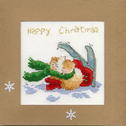 Borduurpakket Christmas Cards - Apres Ski - Bothy Threads