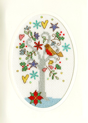 Borduurpakket Christmas Cards - Winter Wishes - Bothy Threads