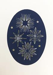 Borduurpakket Bothy Designs - Shining Stars - Bothy Threads