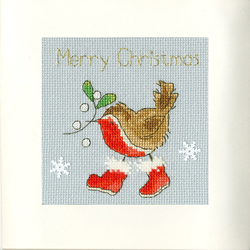 Borduurpakket Margaret Sherry - Step Into Christmas - Bothy Threads