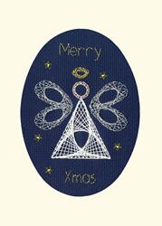 Borduurpakket Bothy Designs - Christmas Angel - Bothy Threads