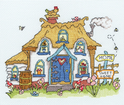 Borduurpakket Sew Dinky - Cottage - Bothy Threads
