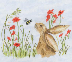 Borduurpakket Sarah Reilly 'Love Country' - Bee Lovely - Bothy Threads