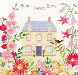 Borduurpakket Friends & Family - Home Sweet Home - Bothy Threads