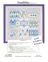 Borduurpatroon Possibilities - The Caron Collection