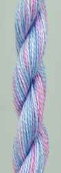 Wildflowers Sky Blue Pink - The Caron Collection