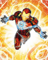 Marvel Avengers Iron Man Blast Off - Camelot Dotz