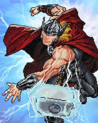 Marvel Avengers Thor Strikes - Camelot Dotz