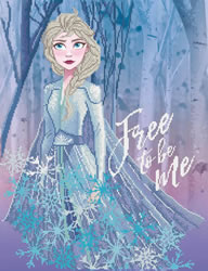 Disney Frozen II Free to be Me  - Camelot Dotz