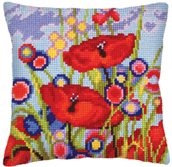 Kussenpakket Red Poppies - Collection d'Art