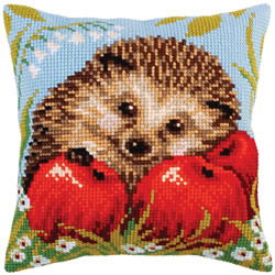Kussenpakket Hedgehog with Apples - Collection d'Art