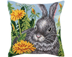 Kussenborduurpakket Sun dandelions - Collection d'Art