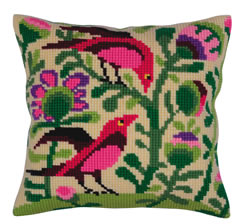 Kussenborduurpakket Birds of Paradise - Collection d'Art