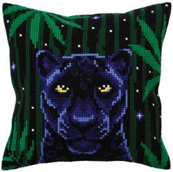 Kussen borduurpakket Night Jungle - Collection d'Art