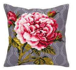 Kussen borduurpakket Tender Rose - Collection d'Art