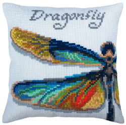 Kussenborduurpakket Dragonfly - Collection d'Art