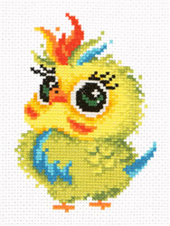 Borduurpakket Parrot - Chudo Igla (Magic Needle)