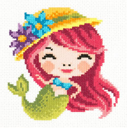 Borduurpakket Mermaid - Chudo Igla (Magic Needle)