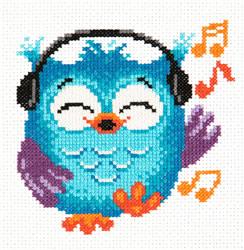 Borduurpakket Owlet - Chudo Igla (Magic Needle)