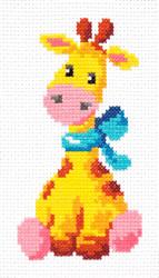 Borduurpakket Giraffe - Chudo Igla (Magic Needle)