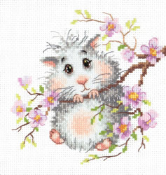 Borduurpakket Mr. Hamster - Chudo Igla (Magic Needle)