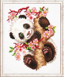 Borduurpakket Panda - Chudo Igla (Magic Needle)