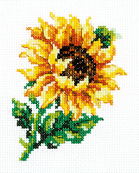 Borduurpakket Small sunflower - Chudo Igla (Magic Needle)