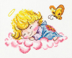 Borduurpakket Little angel - Chudo Igla (Magic Needle)