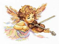 Borduurpakket Strings of love - Chudo Igla (Magic Needle)