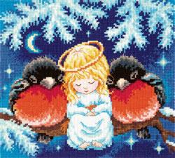 Borduurpakket Christmas tale - Chudo Igla (Magic Needle)