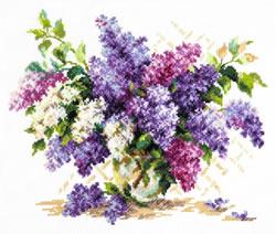 Borduurpakket Lilac - Chudo Igla (Magic Needle)