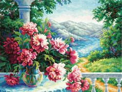 Borduurpakket Heady bouquet - Chudo Igla