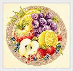 Borduurpakket Fruits - Chudo Igla (Magic Needle)