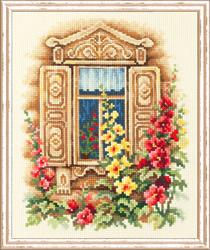 Borduurpakket Lovely Window - Chudo Igla