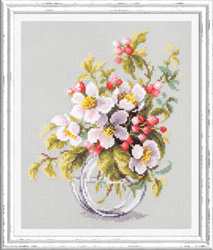 Borduurpakket Blooming Apple Tree - Chudo Igla