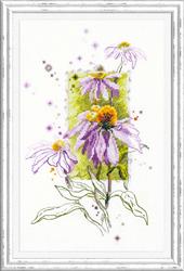 Borduurpakket Echinacea - Chudo Igla (Magic Needle)