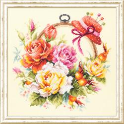 Borduurpakket Roses for needlewoman - Chudo Igla (Magic Needle)