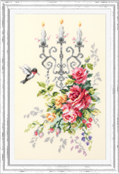 Cross stitch kit Solemn Etude - Chudo Igla