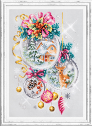 Cross stitch kit A Christmas Fairy Tale - Chudo Igla