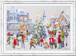 Cross stitch kit Christmas Eve - Chudo Igla