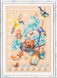 Cross stitch kit Christmas Treats - Chudo Igla