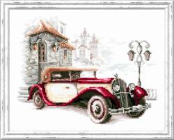 Borduurpakket Retro Buick - Chudo Igla (Magic Needle)